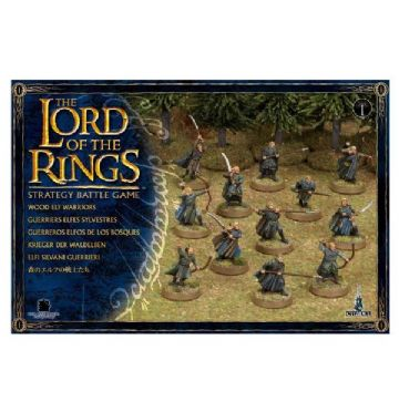 Games Workshop Warhammer The Lord Of The Rings Wood Elf Warriors 05-10